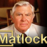 Andy Griffith and Carol Huston star in Matlock.