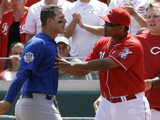 Rizzo Reds fight