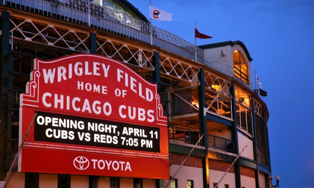 Wrigley's never looked better, just in time